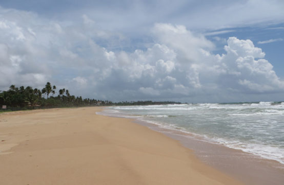 Stunning beachfront land for development