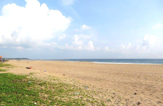Parcel of land with wide beachfront for sale