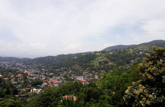 Beautiful land for sale overlooking Kandy city