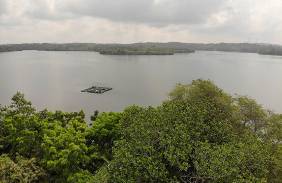 House for sale overlooking Rathgama lake