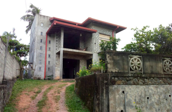 Part built house for sale close to Hikkaduwa beach
