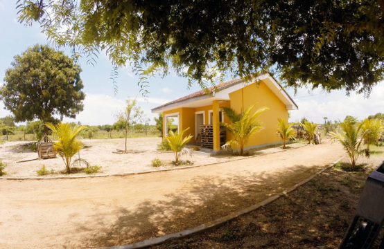 Land with two houses for sale