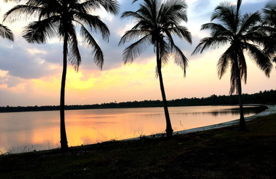 10 Acre beautiful waterfront land for sale at Kalpitiya