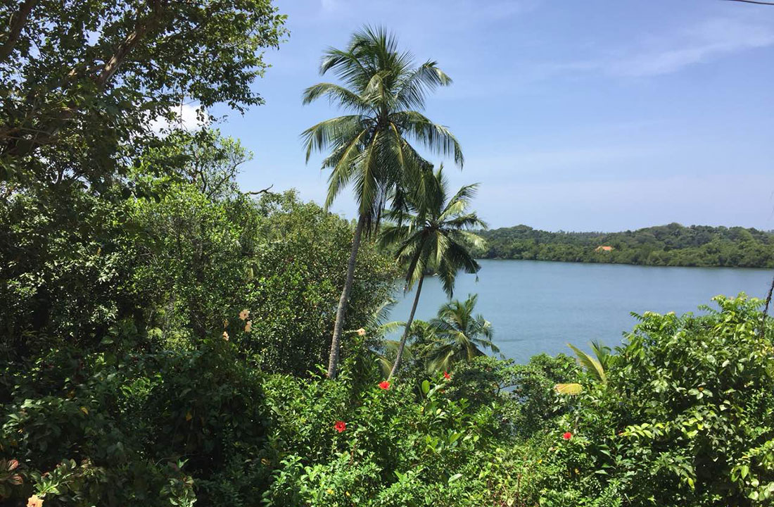 Land with house for sale over looking Rathgama Lake