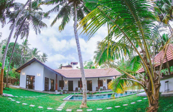 Luxury villa at lagoon location for sale