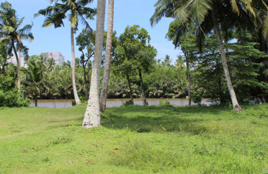 Land for development alongside Polwatta River