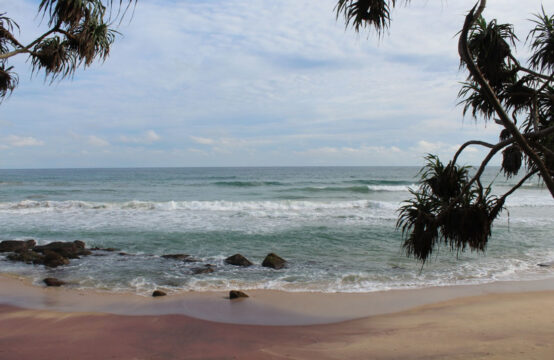 Stunning beachfront land for sale