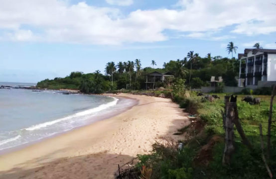 One acre land for sale close to lagoon and beach