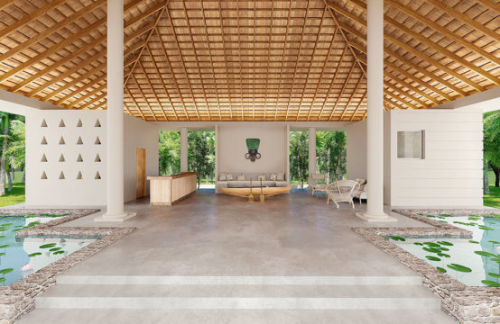 Luxury pool villas for sale