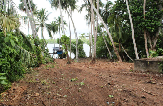 Land for sale on Koggala lake