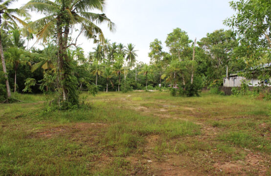 Land for development on Koggala lake
