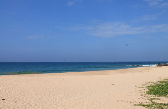 Land for sale on Balapitiya beach