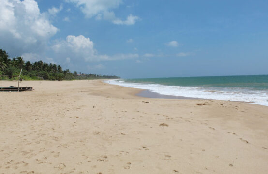 Beachfront land for sale on Rekawa