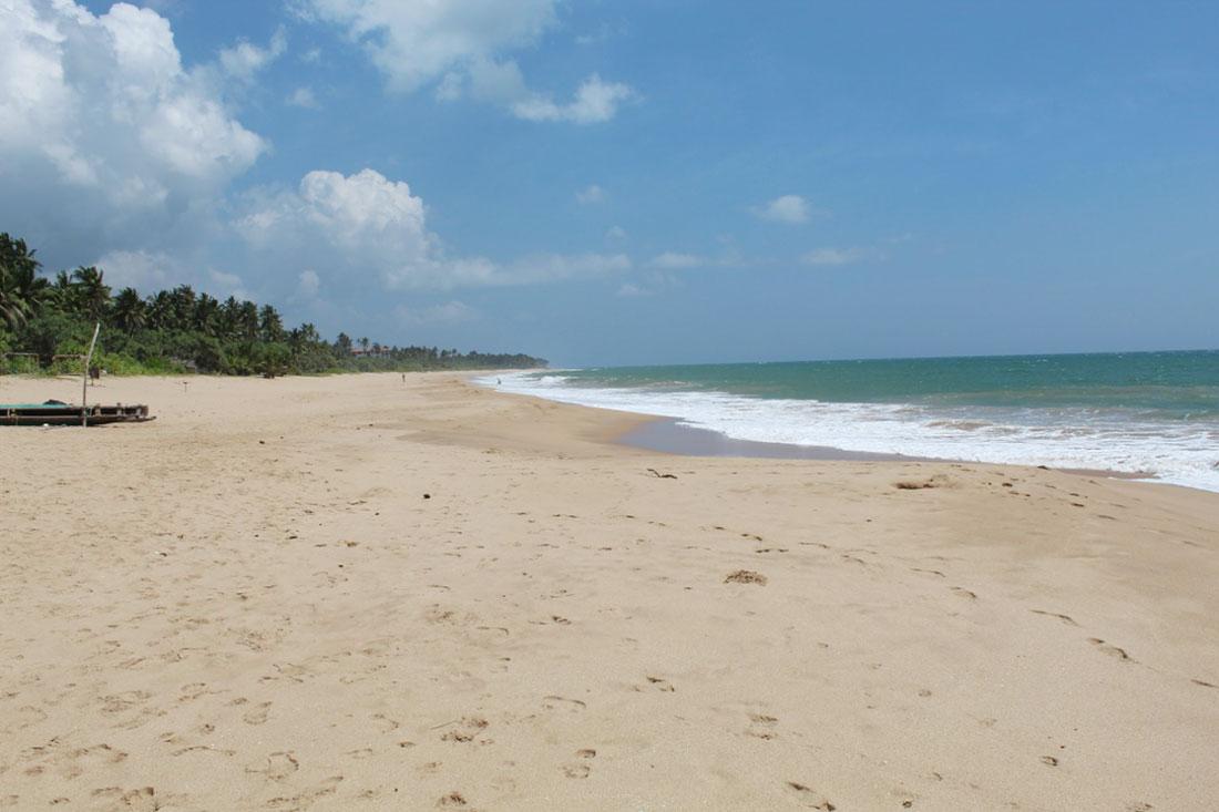 Beachfront land for sale on Rekawa