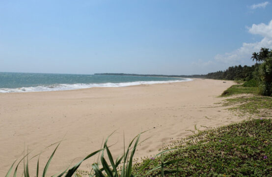 Stunning beachfront land for sale on Rekawa