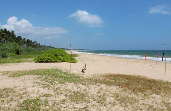 Beachfront land for development 1.3 Acre