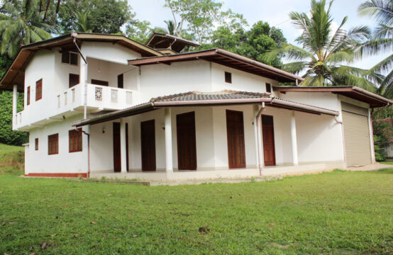 Newly built two storey house for sale close to Galle city