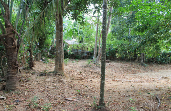 Small plot of land for sale close to beach
