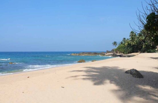 Stunning land for sale on Balapitiya beach