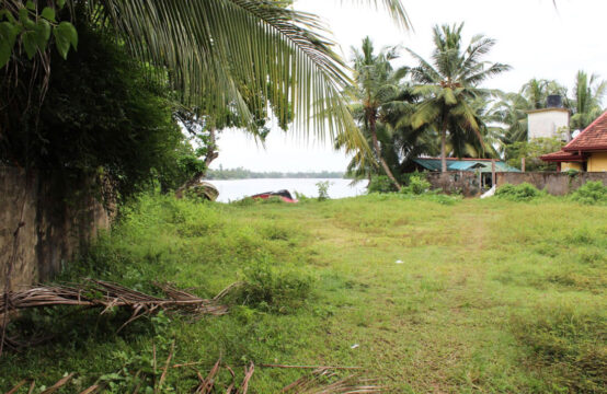 Land for sale on Bentota river