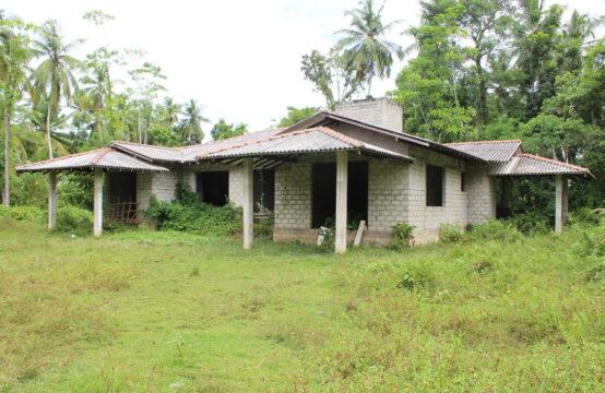 Part built house for sale close to Bentota beach